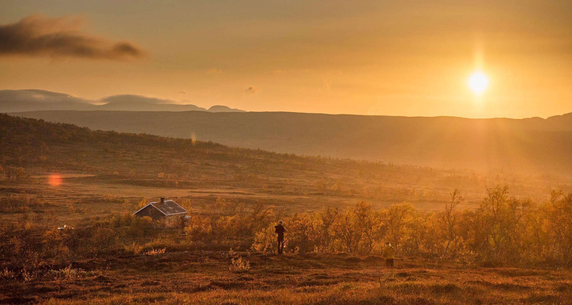 Fjälljakt i västra Jämtland.