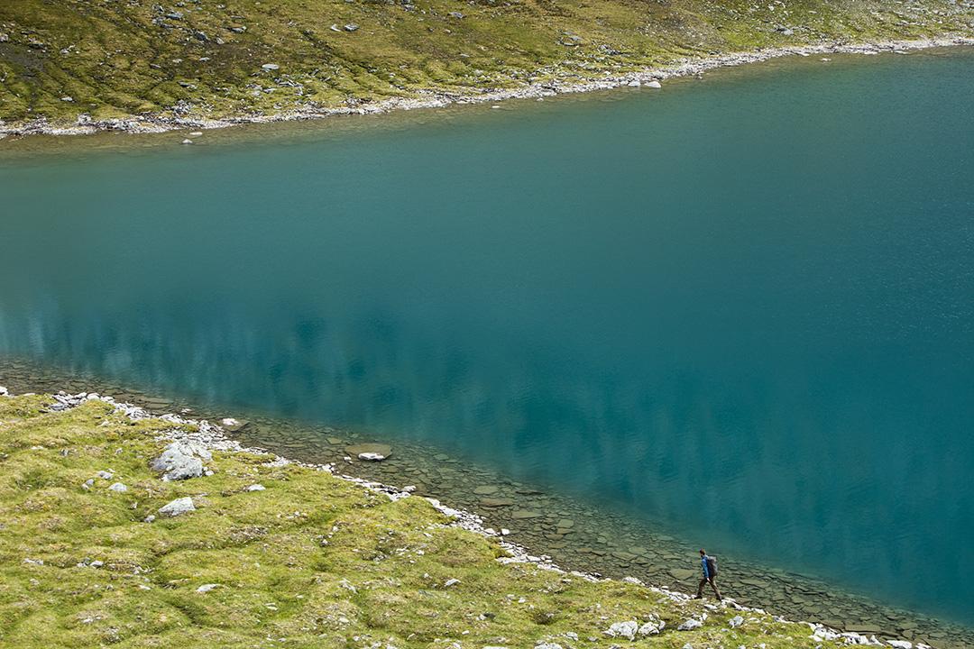 Rissajaure (Trollsjön) i Kärkevagge, Lappland