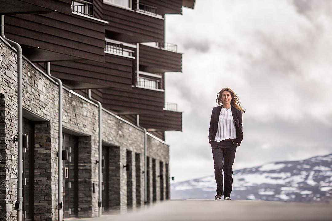 Pernilla Gravenfors för DI-reportage