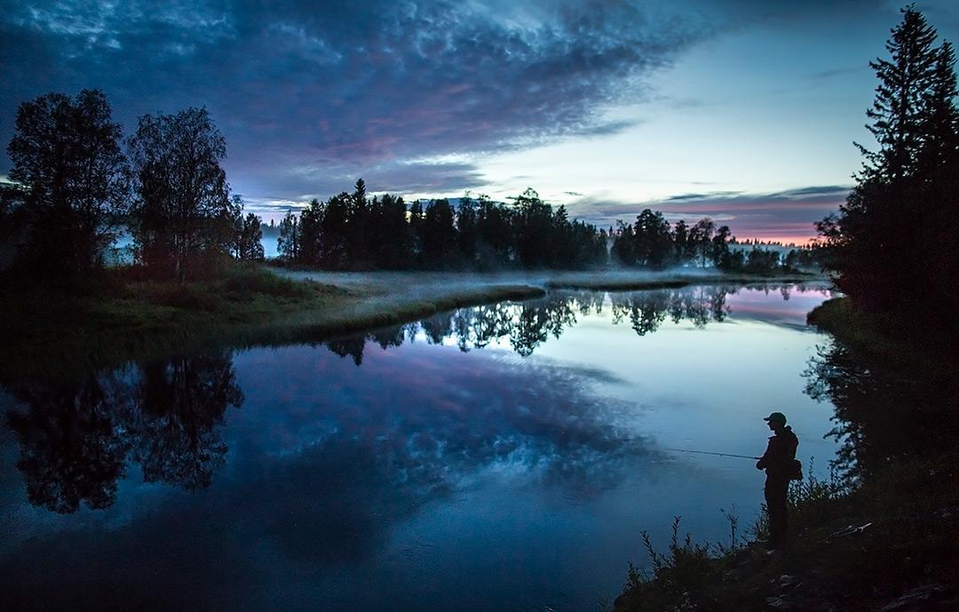 Fiske i Långan